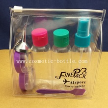 wholsale travel set cosmetic container