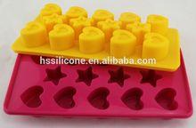 Accesorios de cocina de silicona moldes para velas