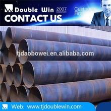 De carbono de aceite usado y tubo de gas api 5l estándar