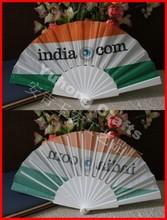 Spanish fabric fan with plastic fan handle