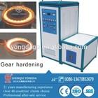 Gears shaft surface hardening induction heat treatment equipment
