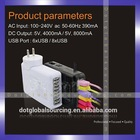 6 Port USB Travel AC Charger Adapter Plug Replacement mini socket 6 Port USB Travel AC Charger Adapter