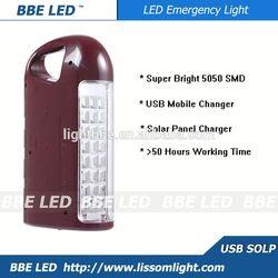 China supplier emergency led lantern,led rechargeable emergency lantern,solar and usb charging emergency lantern