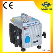 2 stroke small gasoline generator 1kw,inverter type generator