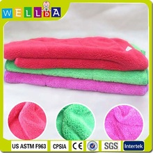 100% polyester plain color handmade baby blanket patterns