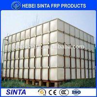 frp water tank specification