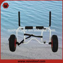 Two-Wheels High Quality Aluminum Hand Cart Canoe Beach Trolley Cart