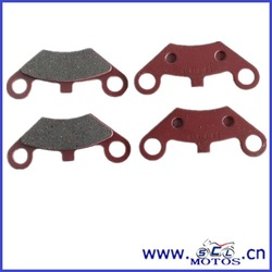 SCL-2014080052 motorcycle Non-Asbestos brake pads for ATV and UTV
