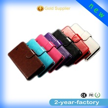 2015 Alibaba top selling wholesale leather wallet cell phone case for iphone6