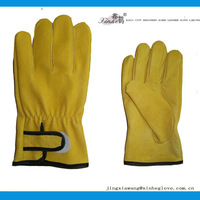 Furniture factory supply pig skin leather work glove