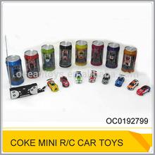 Hot 4ch coke can mini rc car,remote control mini car toy OC0192799