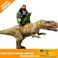 Parque de atracciones de la vida- tamaño animatronic dinosaurio, interior de atracciones paseos en el parque