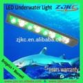 La luz led profesional 316 fabricación de acero inoxidable ip68 resistente al agua led de luz bajo el agua/nueva señuelos de la pesca para 2014