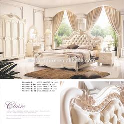 Living room hot sale modern furniture/Luxury bedroom set RS-A8005