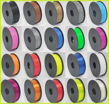 High quality OEM 1.75MM/3MM 1KG/spool 3D printer filament HIPS/PVA/Nylon/PC/PLA//ABS