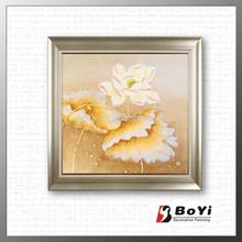 artificial lotus flower painting,lotus leaf painting