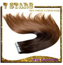 China wholesale top grade 7a no sheeding Italian kertain glue tape hair extensions