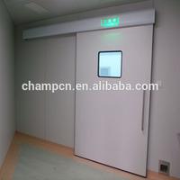 HD073 customized automatic sliding hermetic door in high pressure laminate