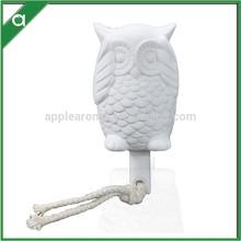 Decorativos de cerámica búho para difusor, el diseño de diferentes de cerámica conjunto