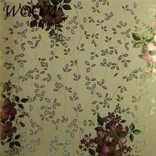 De luxe belle feuille métallique papier peint feuille d'or