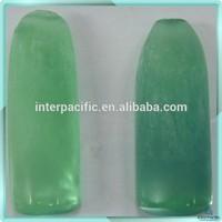 Wholesales Rough gems Synthetic green Corundum Rough