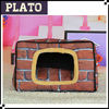 House shaped pet bag,multifunction pet carrier,pet bed can be washable