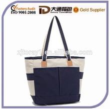Polyester Multi-Compartment Lunch Cooler Shoulder Tote Handbag Bag For Medicine Or Picnic