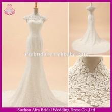SW710 lace verlay bridal beautiful cheap wedding dresses mermaid trumpet