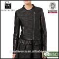 2014 baratos de moda cómoda chaqueta de cuero chaquetas de las mujeres y los blazers