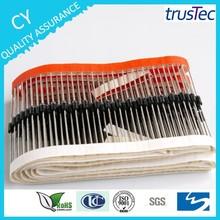 Jiangsu rectifier factory 1 amp diode 1N4001 1N4002 1N4003 1N4004 1N4005 1N4006 1N4007