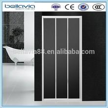 bathroom shower screen 4mm clear glass, 6433single adjustable sliding shower enclosure,shower screen