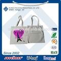 Personalizado de lona de algodón bolso de mano, bolsas de algodón de promoción, reciclaje de algodón orgánico tote bolsos al por mayor