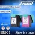 de tinta visible para hp301 cartucho de tinta con alta calidad