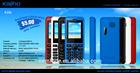 super cheap low end OEM wholesale maunfacturer bar GSM 2G mobile phone K206