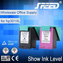 Wholesale office supply compatible ink 301 for hp with CE Certifiecate