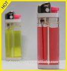 Color gas disposable Flint Lighter