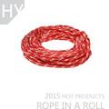rouge et blanc 8mm fleck voilier principal drisse corde tressée