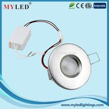 "CIXI high fashion light 2.5"" 3.0w recessed & decorative LED downlight"