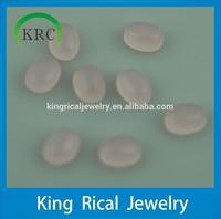 wholesale price Oval glass Cabochon glass Gemstone Syntheic gemstone
