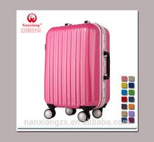 fashionable ABS+PC film travel luggage box