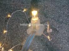 DC12V low voltage 100m 500leds warm white led Christmas clip light