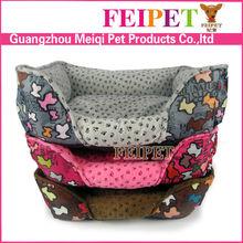 Round Comfortable Fleece Memory-Foam luxury pet bed