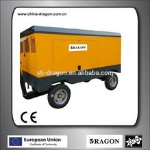 portable diesel screw air compressor