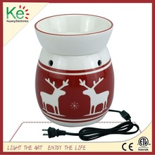 Keyang Wholesale Ceramic Electric Candle Warmer, Wax Tart Burner for Christmas