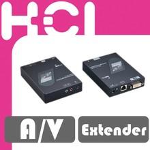RJ45 Twisted-Pair 100m DVI Audio/Video Extender with IR Control