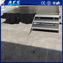 High Quality Circle Wedding Stage/Four Aluminum Legs Portable Stage