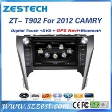 ZESTECH Car dvd player for TOYOTA CAMRY 2012 with GPS/Bluetooth/DVD/CD/MP3/Mp4/Steering wheel control