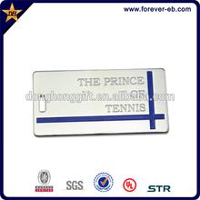 Wholesale Custom Design magnetic metal name tag