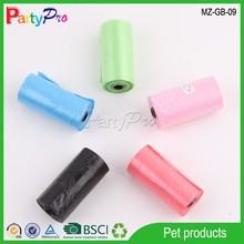 Partypro 2015 Pet Supply HDPE Bag Plastic Garbage Bag Dog Waste Bag Plastic