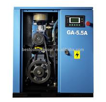 5.5kw High Quality screw air compresor